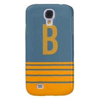 Stripes Monogram Case Galaxy S4 Case