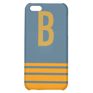 Stripes Monogram Case iPhone 5C Covers