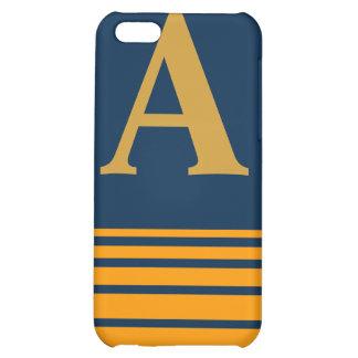 Stripes Monogram Speck Case Case For iPhone 5C