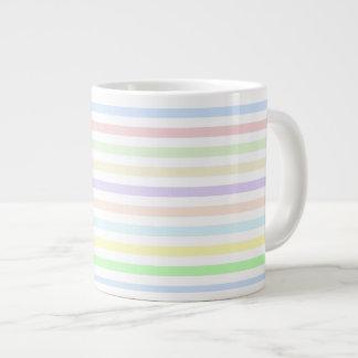 Stripes Multicolor Pastel Jumbo Mug