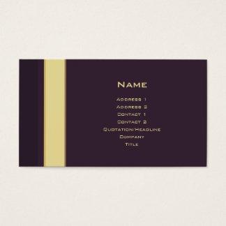 Stripes No. 0194 Business Card