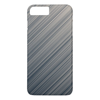 Stripes of Slate and Cream iPhone 7 Plus Case