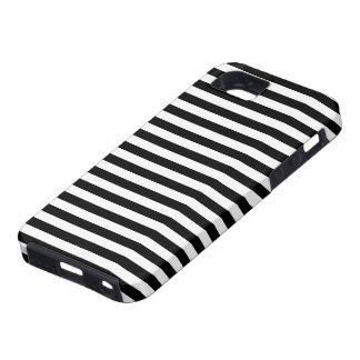 Stripes Parallel Lines - White Black Cover For iPhone 5/5S