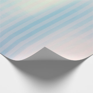 Stripes Pastel Pink Blue Ombre Lines Vip Wrapping Paper