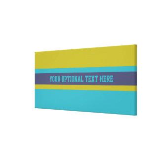 Stripes Pattern custom canvas print