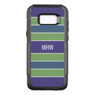 Stripes Pattern custom monogram phone cases