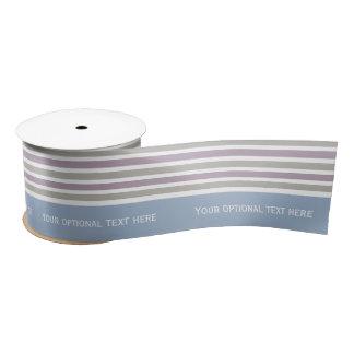Stripes Pattern custom ribbon Satin Ribbon