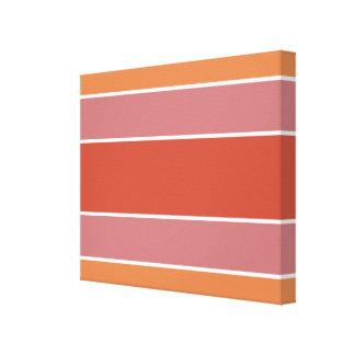 Stripes Pattern customizable canvas print