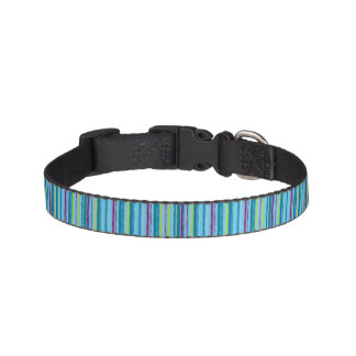 Stripes pattern pet collar