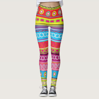 Stripes Pop Fashion Leggings