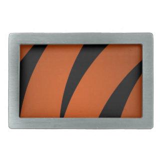 Stripes Rectangular Belt Buckles