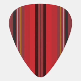 Stripes - Red Horizon Guitar Pick
