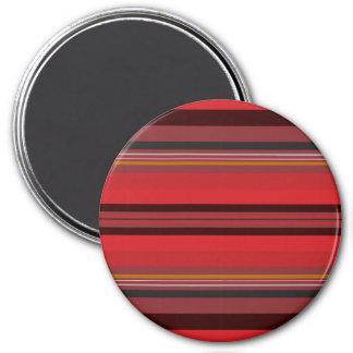 Stripes - Red Horizon Magnet