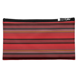 Stripes - Red Horizon Makeup Bag