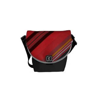 Stripes - Red Horizon Messenger Bag
