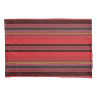 Stripes - Red Horizon Pillowcase