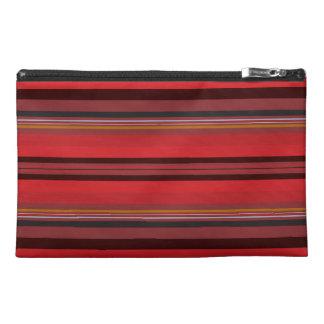 Stripes - Red Horizon Travel Accessory Bag