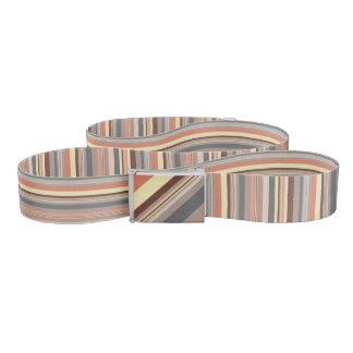 Stripes - Retro Tones Belt