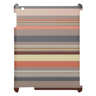 Stripes - Retro Tones Case For The iPad