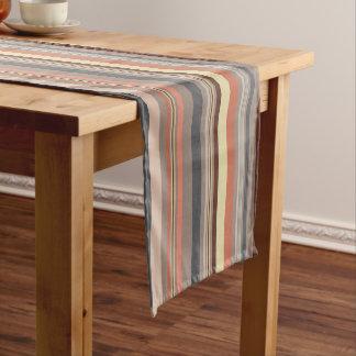 Stripes - Retro Tones Short Table Runner