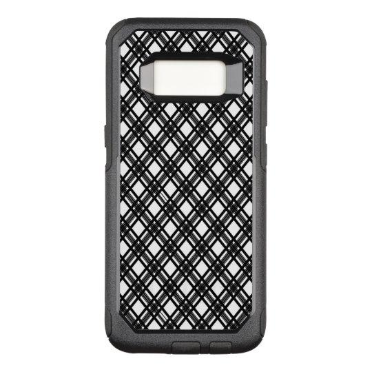 Stripes Texture OtterBox Commuter Samsung Galaxy S8 Case