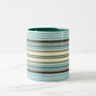 stripes Two-Tone coffee mug