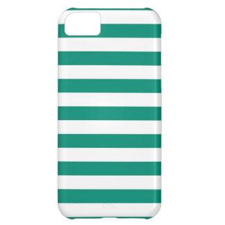 Stripes Ultramarine Green iPhone 5 Case