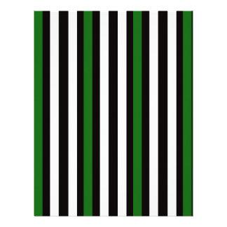 Vertical letterhead custom vertical letterhead templates stripes vertical green black white letterhead spiritdancerdesigns Choice Image