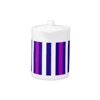 Stripes Vertical Purple Blue White