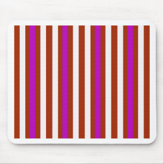 Stripes Vertical Purple Red White Mouse Pad