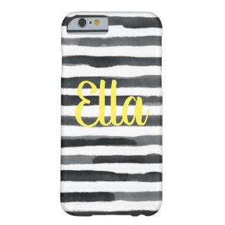 Stripes Watercolor Style iPhone Case