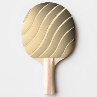 Stripes Wave Ping Pong Paddle