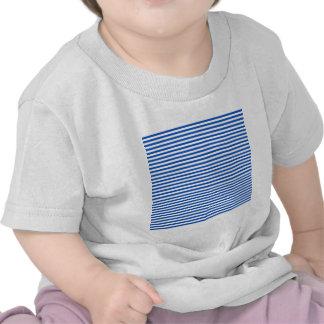 Stripes - White and Sapphire Tee Shirt