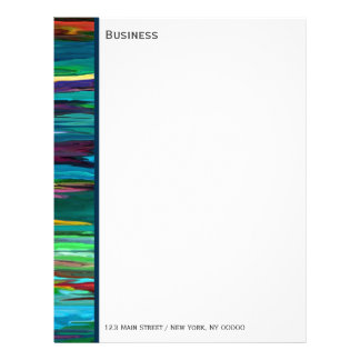 Stripesa ~ Business Letterhead / Stationary