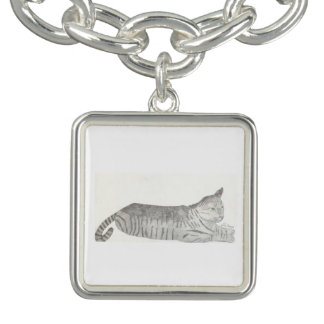 Stripey Cat Bracelet