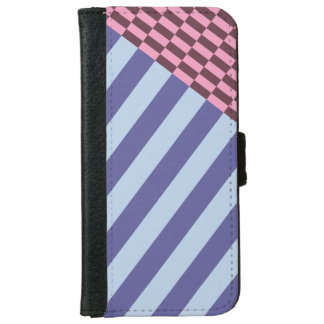 stripped iPhone 6 wallet case