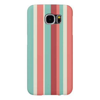 Stripped Pastel Samsung Galaxy S6 Cases