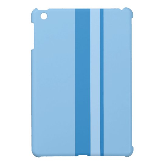 Strips - blue. case for the iPad mini