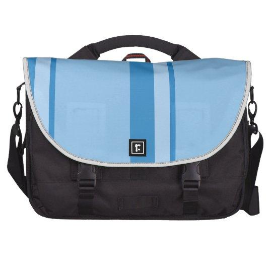 Strips - blue. computer bag