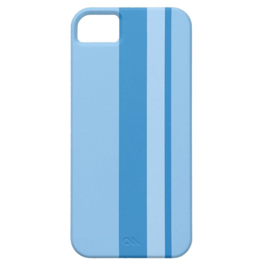 Strips - blue. iPhone 5 case