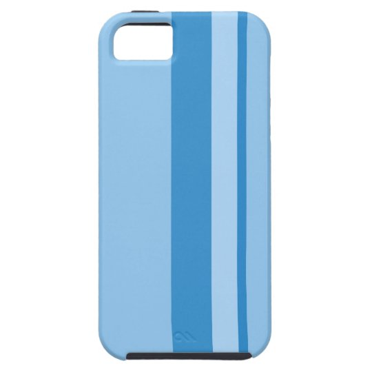 Strips - blue. iPhone 5 covers
