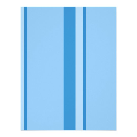 Strips - blue. letterhead
