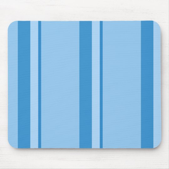 Strips - blue. mouse pad