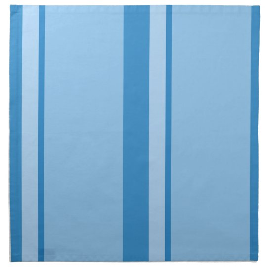Strips - blue. napkin