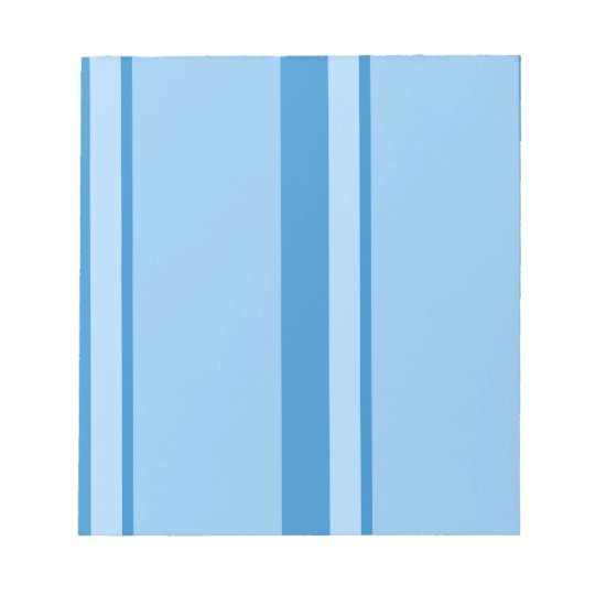 Strips - blue. notepad