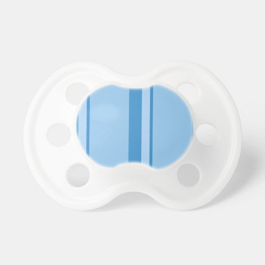Strips - blue. pacifier
