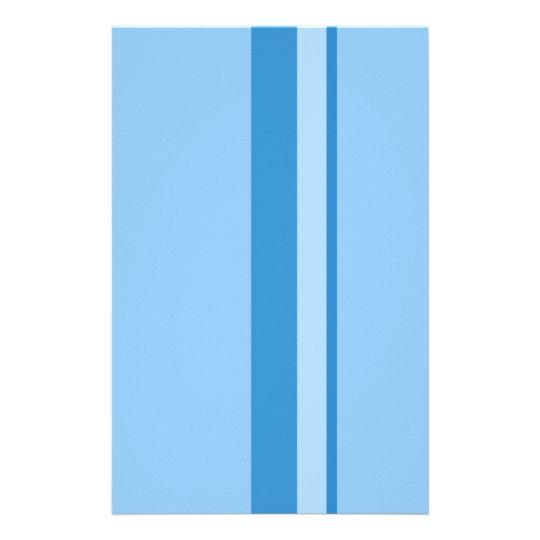 Strips - blue. stationery