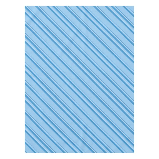 Strips - blue. tablecloth