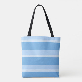Strips - blue. tote bag