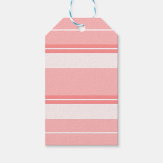 Strips - pink. gift tags